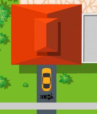 1 car driveway sealing
