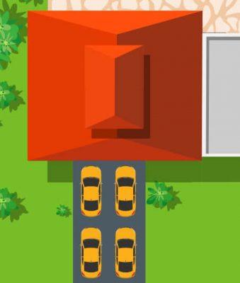 4 car driveway sealing