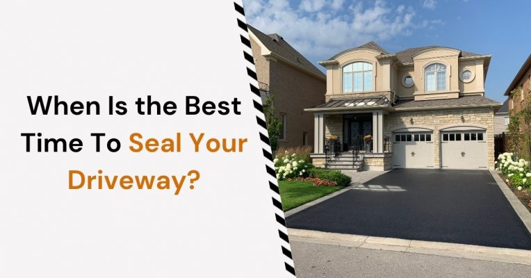 Feature image for When is the best time to seal your driveway blog